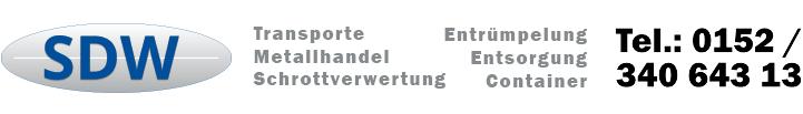 Schrotthändler, Schrotthandel, Schrottabholung und Altmetall Stuttgart
